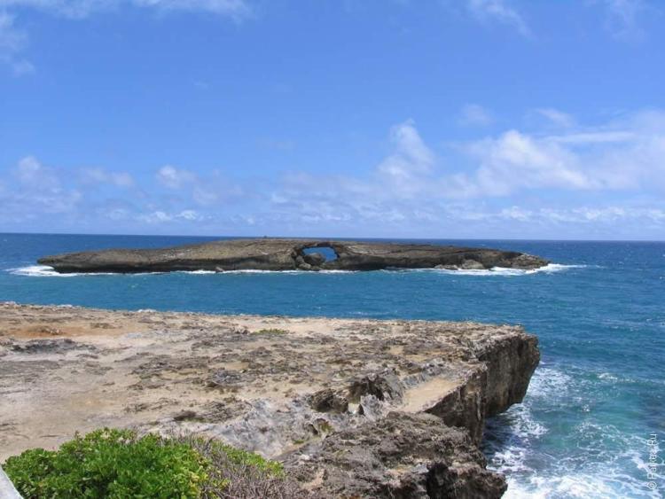 Оаху, Гавайи - вулканический островок