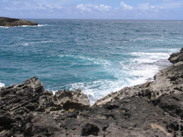 Оаху, Гавайи - Вид на океан