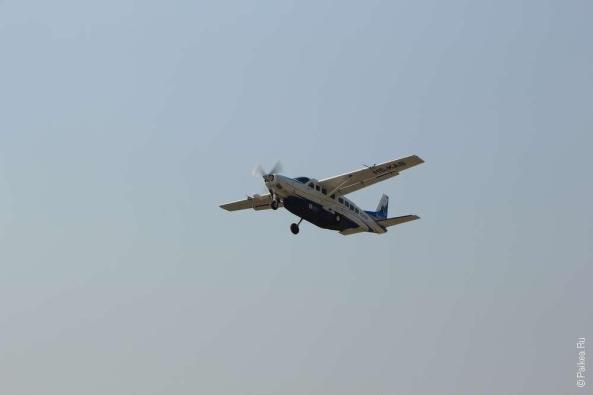 самолет авиакомпании kan air