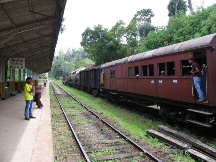 станция Элла в Шри-Ланке