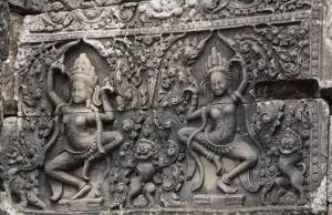 Apsara, Siem Reap, Cambodia