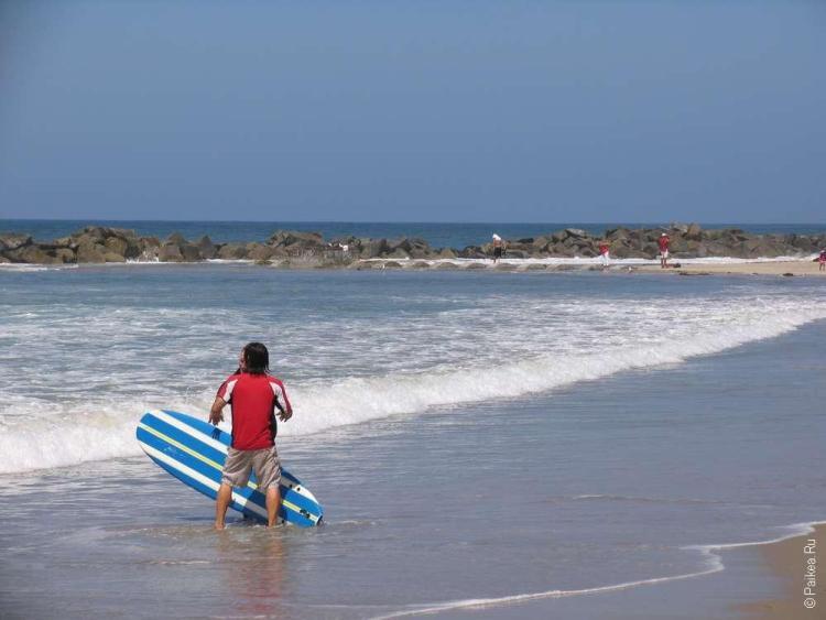 Когда доберетесь до океана, вам понадобиться совсем иной транспорт