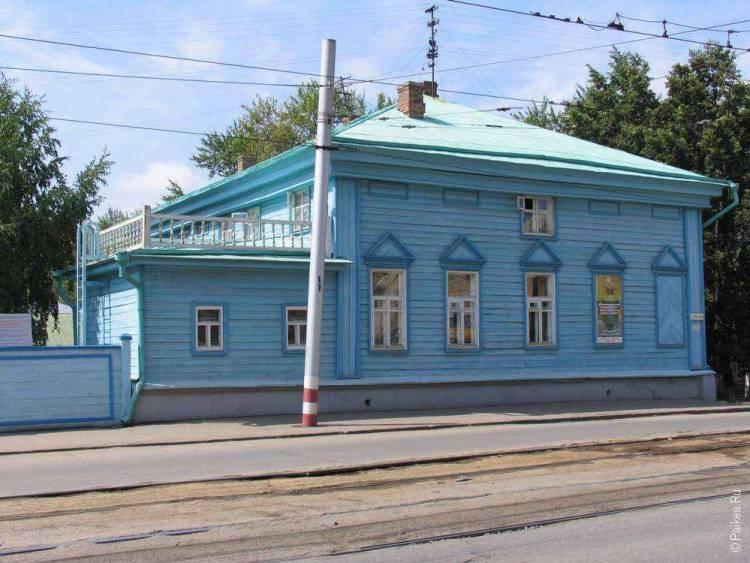 Дом на центральной улице Ульяновска