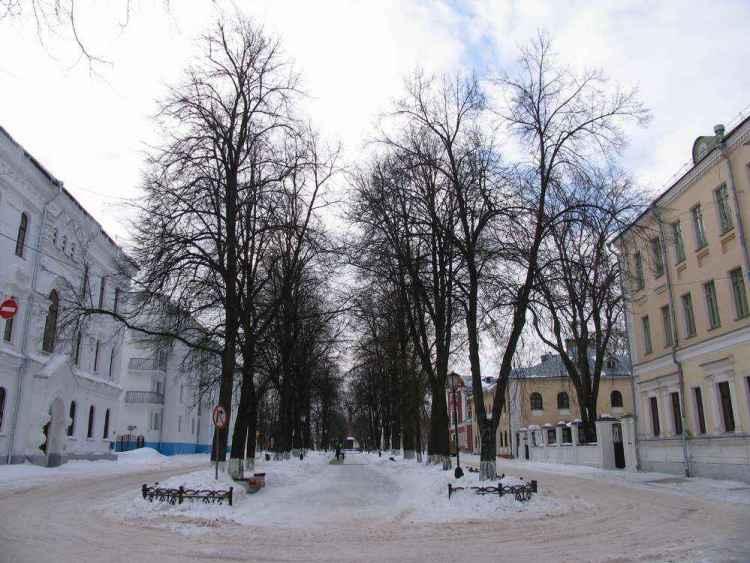 Ярославль зимой