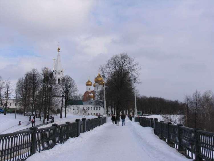 ярославль успенский собор