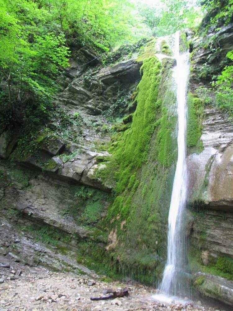 отдых в небуге водопад шапсуг