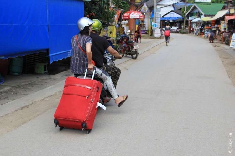Мотоцикл - основа жизни в Северном Таиланде
