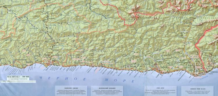 дольмены краснодарского края на карте