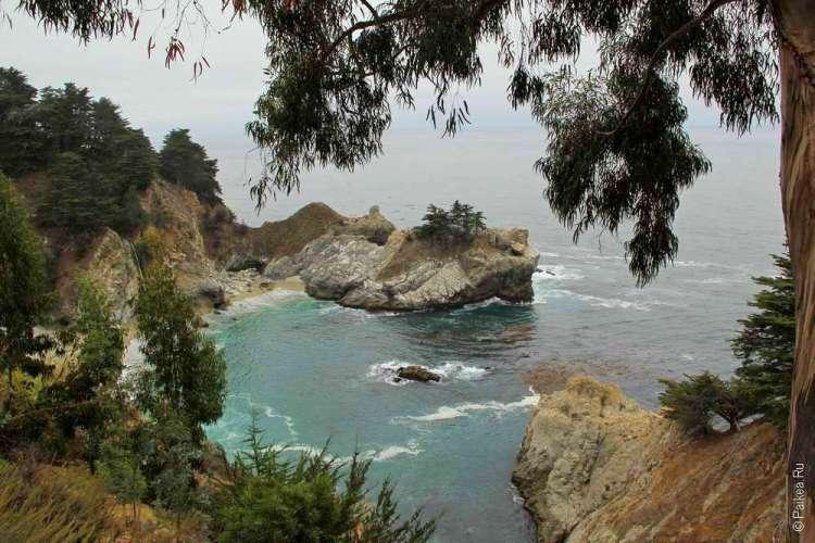 Бухта у побережья Калифорнии