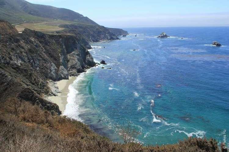 Калифорнийский берег и Тихий океан