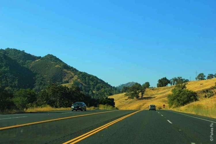 Дорога на север от Сан-Франциско