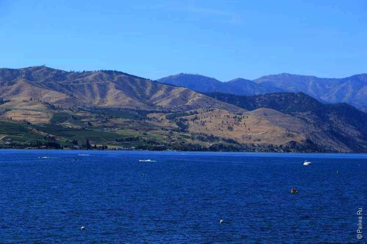 озеро челан chelan lake