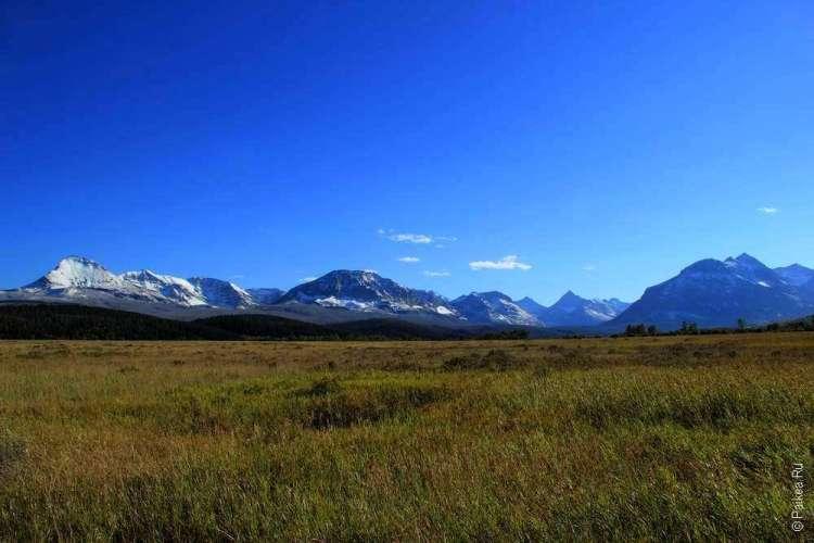 Горы в штате Монтана США