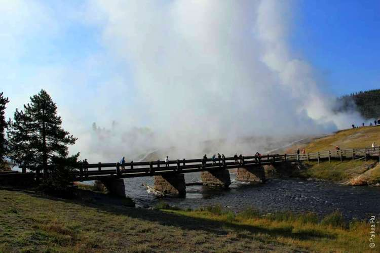 Мост через горячую реку Файрхол