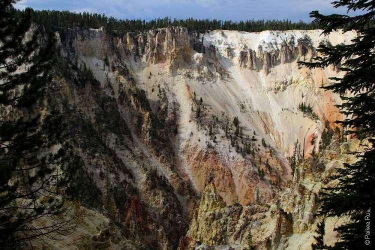 йеллоустоун каньон