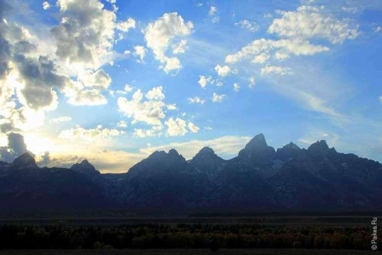 Горы в США