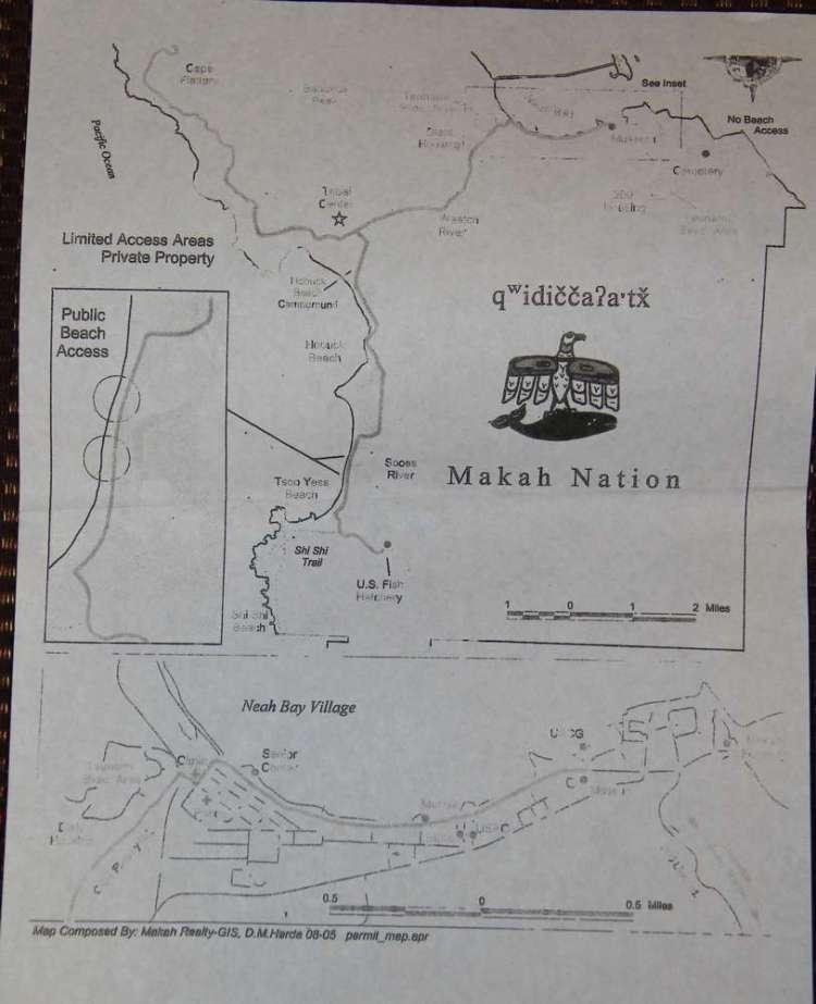 Карта мыса Флэттери