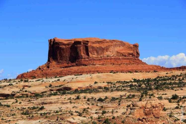 Геологическая формация в штате Юта