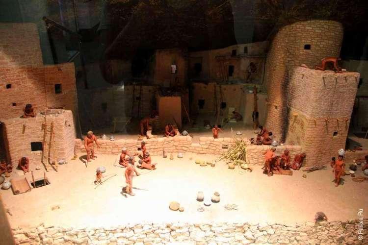 Диорама в Археологическом музее