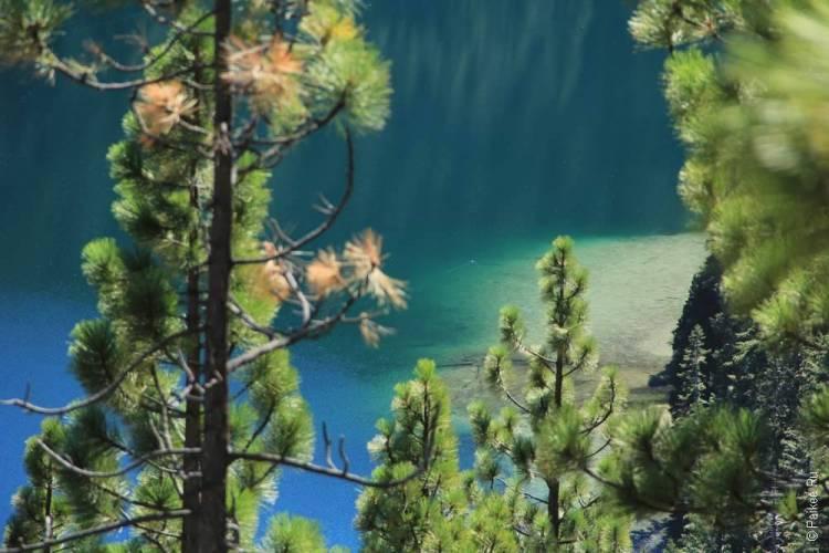 озеро тахо калифорния природа