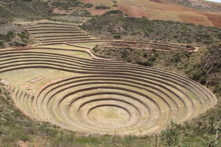 священная долина инков, Морай