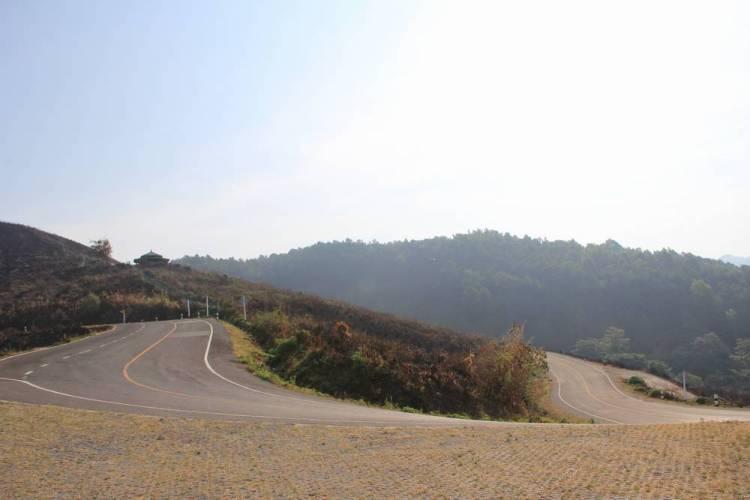 Горная дорога на севере Таиланда