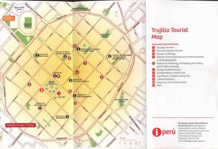 Карта Трухильо