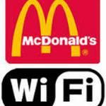Бесплатный интернет wifi в McDonalds