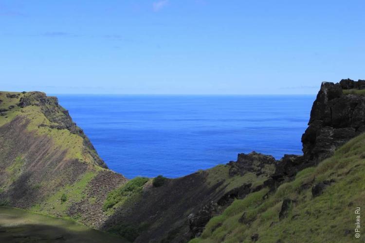 Вулкан Рано Као, Остров Пасхи (Easter Island)