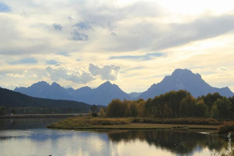дикий запад сша озеро и горы
