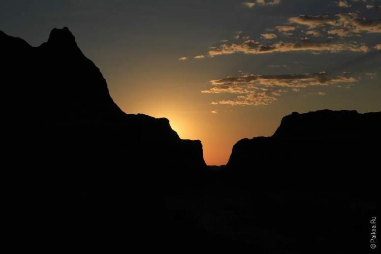 дикий запад сша рассвет