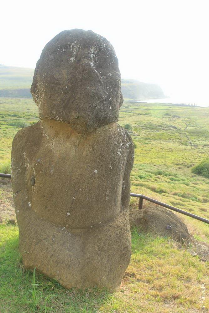 Странный моаи