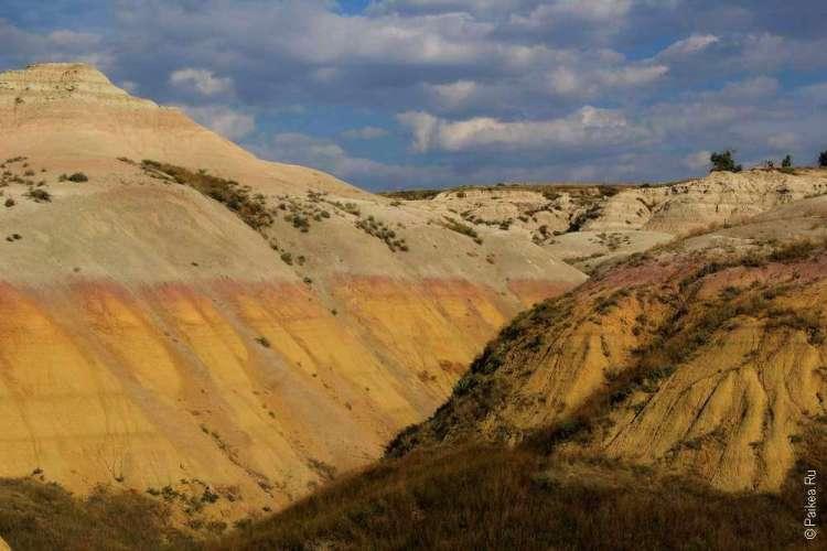 Разноцветный бедленд