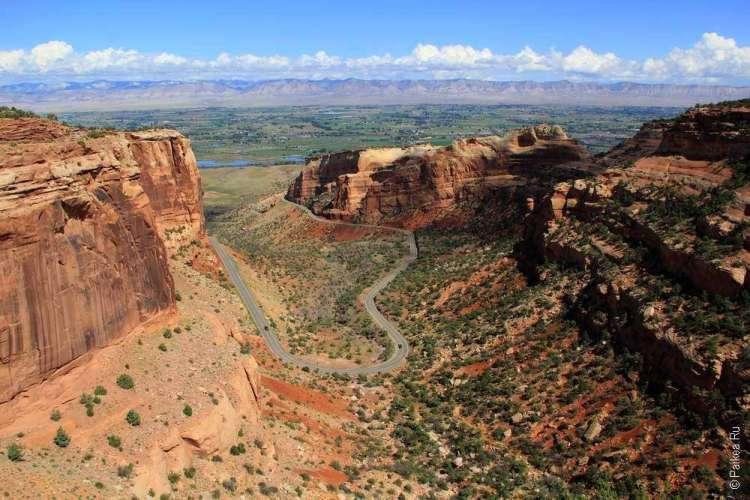 Национальный памятник Колорадо, США 24