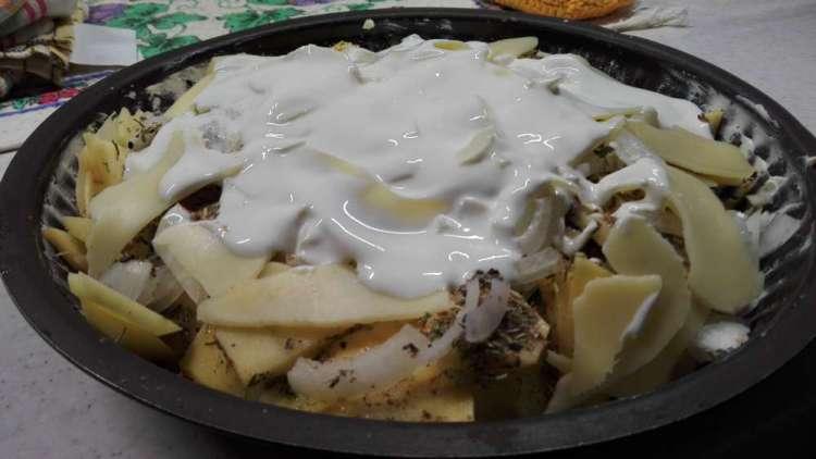 Запеченный картофель с сыром рецепт с фото