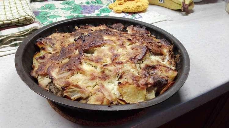 Запеченный картофель с сыром рецепт