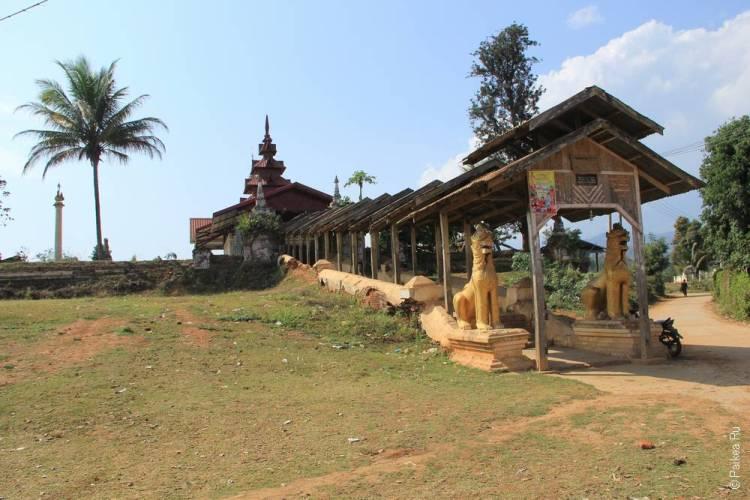 древний храм в сипо