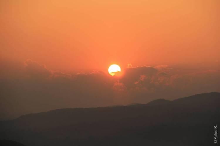 мьянма закат