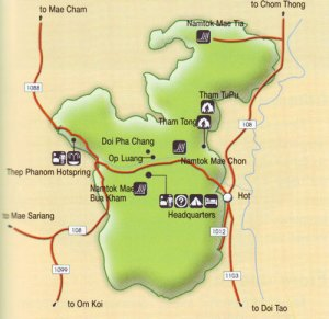 Об Луанг карта