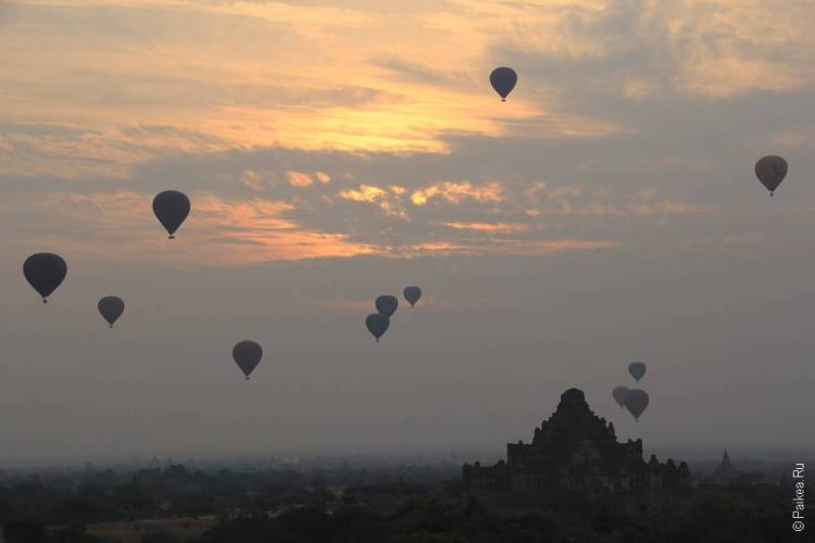воздушные шары в багане