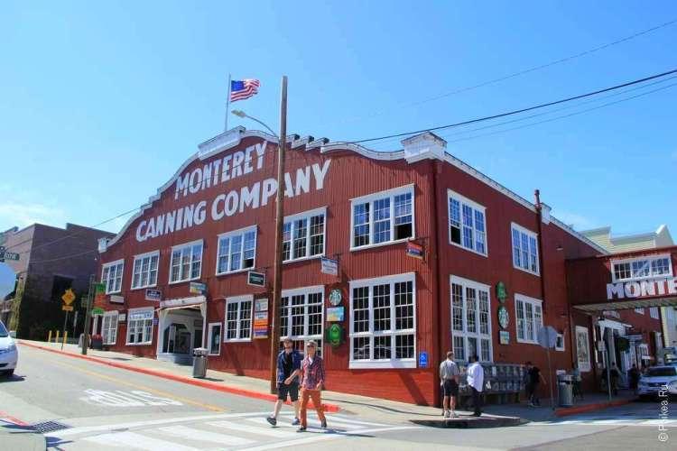 Консервная фабрика - одна из главных достопримечательностей Монтерея