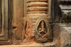 Детали храма Бантей Самре Камбоджа Bantey Samre Cambodia