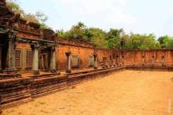 Галереи храма Бантей Самре Камбоджа Bantey Samre Cambodia