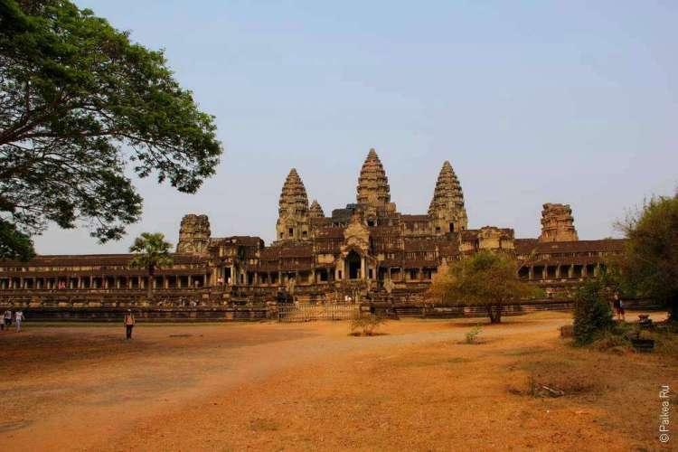 Главная достопримечаельность Камбоджи - Ангкор Ват