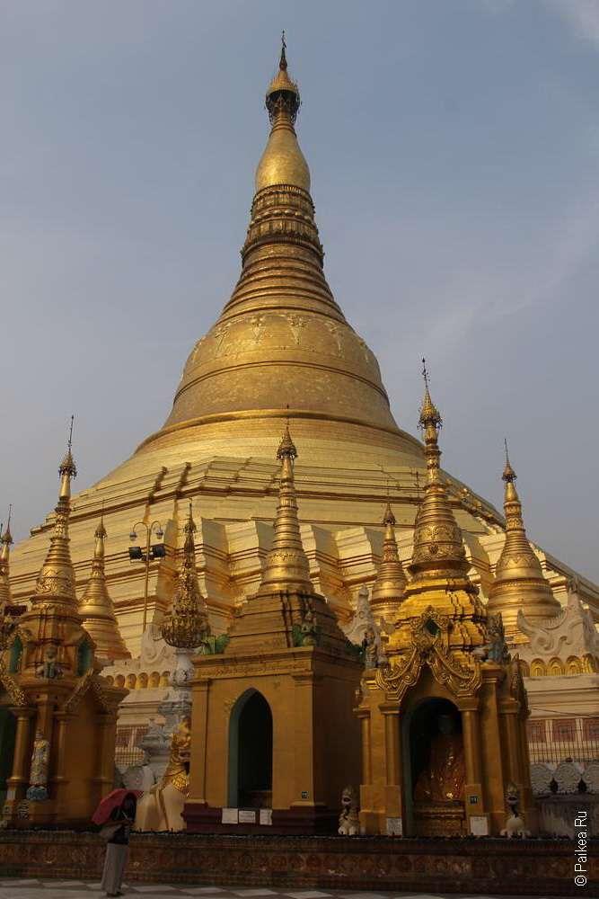 шведагон золотая пагода