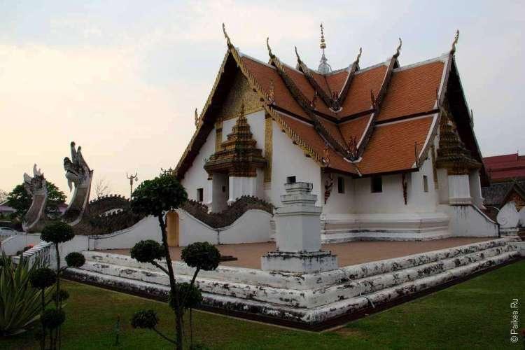Буддистский храм в Северном Таиланде