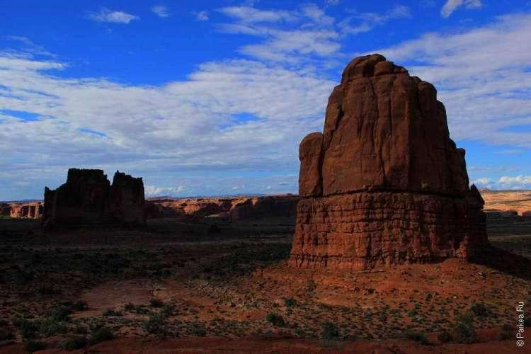 Скалы на плато Колорадо