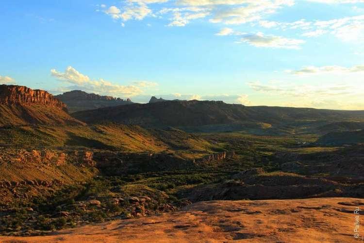 Пейзаж в национальном парке Арки