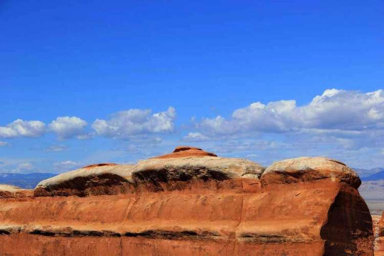 Эрозия в национальном парке Арки