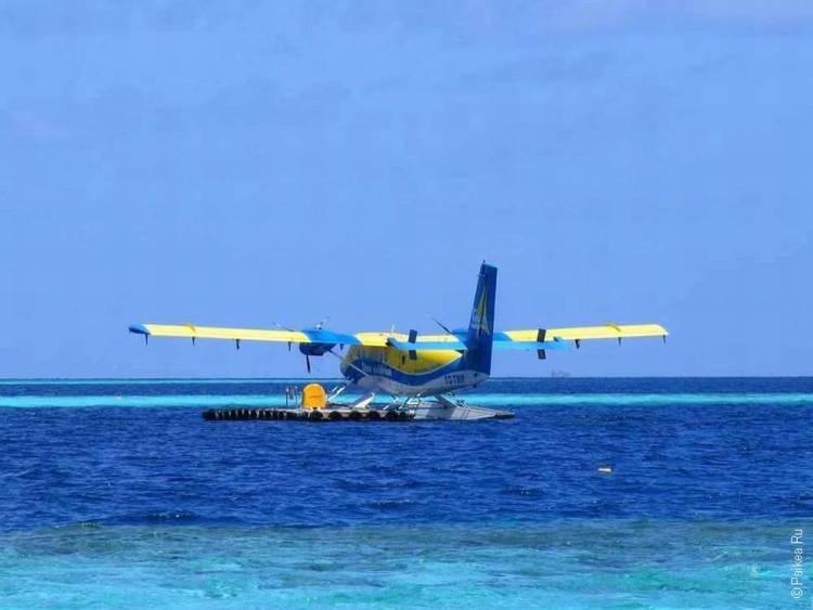 Аэротакси на Мальдивах
